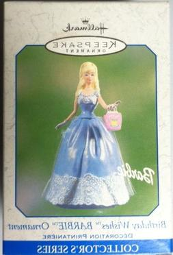 Hallmark - Birthday Wishes Barbie Ornament - Collector's Ser