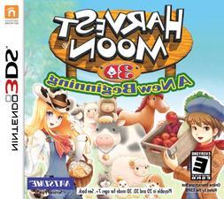 Harvest Moon 3D: A New Beginning - Nintendo 3DS