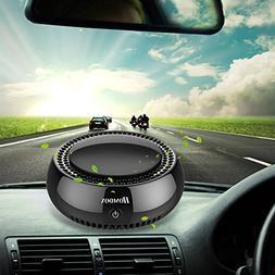 Homdox Car Air Purifier,True HEPA Travel USB Auto Air Cleane