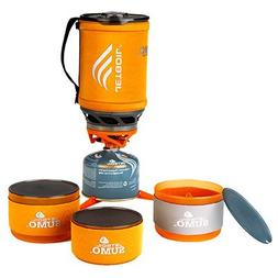 Jetboil Sumo AL Cooking System with Bowl Set Orange One Size