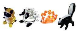 Looking Glass Miniature Collectible - Skunk / Hedgehog / Por