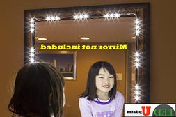MAKE UP MIRROR LED LIGHT FOR VANITY MIRROR with dimmer and U