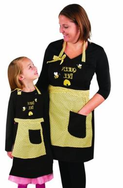 Manual Woodworkers & Weavers Queen Bee and Busy Bee Apron