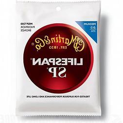 Martin MSP7200 SP Lifespan 92/8 Phosphor Bronze Medium Acous