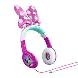 Minnie Mouse Headphones for Kids with Built in Volume Limiti