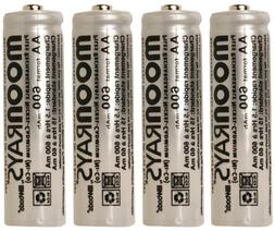 Moonrays Rechargeable NiCd Batteries for Outdoor Solar-Power
