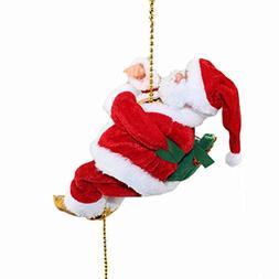 Musical Climbing Santa Christmas Decoration