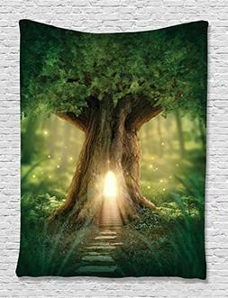 Mystic Fairy Tree of Life Enchanted Forest Mystical Lights D