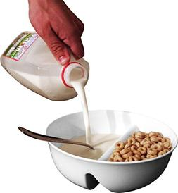 Just Crunch Anti-Soggy Cereal Bowl By Just Solutions - Keeps