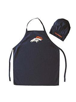 NFL Denver Broncos Chef Hat and Apron Set