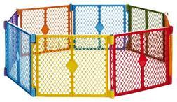 "North States 256"" Superyard Colorplay 8-Panel Play Yard: Saf"