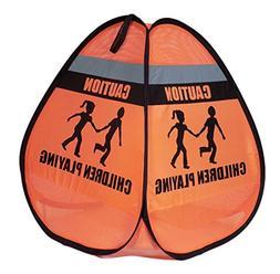 Novus Children at Play Weighted Pop Up Orange Safety Cone Si