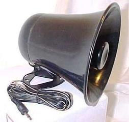 PA Horn SPEAKER w/ Plug & Wire - 5 inch for CB / Ham Radio