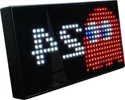PAC-MAN Premium LED Desk Clock - 512 Vibrant LED's Display C