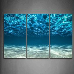 Print Artwork Blue Ocean Sea Wall Art Decor Poster Artworks