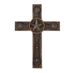 Koehler 15026 13.25 Inch Rustic Cowboy Wall Cross