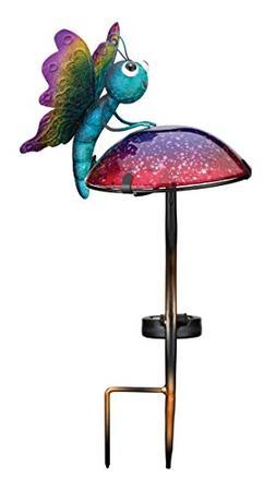 Regal Art & Gift 11796 Mushroom Critters Stake Solar Light G