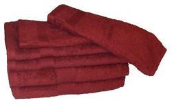 Revere Mills Air Lite Elite Zero Twist Cotton Towel Set, 6-P