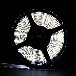 SUPERNIGHT  16.4 Ft Waterproof 300 SMD LED Flexible Strip wi
