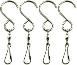 Smooth Spinning Swivel Clip Hanging S Hooks Wind Spinner Rot