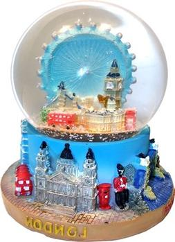 Snow Globe - Composite, Detailing Famous London Landmarks In