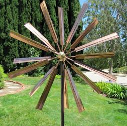 Stanwood Wind Sculpture Kinetic Copper Wind Sculpture, Doubl