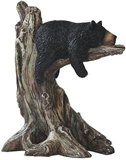 StealStreet SS-G-54292 Black Bear sleeping on Tree Branch Fi