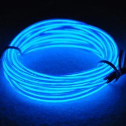 TDLTEK Sound Activated Neon Glowing Strobing Electroluminesc