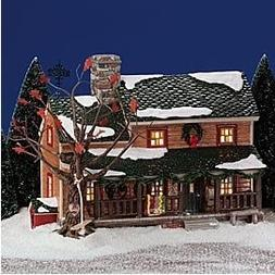 The Original Snow Village: Buck's County Farmhouse