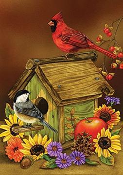 Toland Home Garden Autumn Melody 12.5 x 18 Inch Decorative F