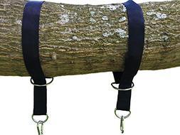 Tree Swing Hanging Kit Holds 1200lbs, Easy & Fast Swing Hang