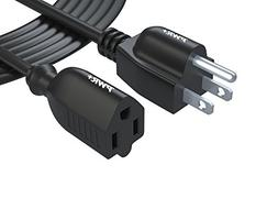 Pwr+ 12 Ft Power Extension Cord Cable Extender -  18AWG NEMA