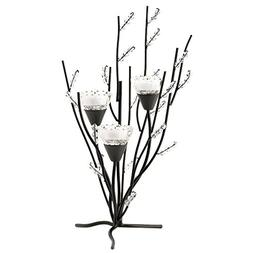 VERDUGO GIFT CO Crystal Tree Tealight Candle Holder