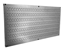 "Wall Control 30-HP-1632 GV 16"" x 32"" Horizontal Galvanized M"
