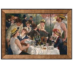 Wall26 - Luncheon of the Boating Party by Pierre Auguste Ren