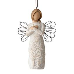 Willow Tree hand-painted sculpted Ornament, Remembrance