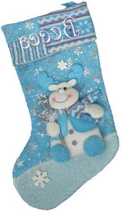 Winter Wonderland Personalized Stocking - Rudolph