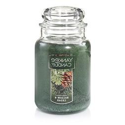 Yankee Candle Large Jar Candle, Balsam & Cedar