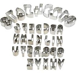 UBLISS Fruit Cookie Cutter Set,35 Piece Biscuit Cutters,26 A