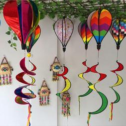 AIHOME Color Windsock Striped Hot Air Balloon <font><b>Wind<