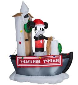 GEMMY AIRBLOWN CHRISTMAS 90TH ANNIVERSARY INFLATABLE MICKEY