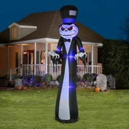Gemmy Airblown Halloween Inflatable 12 Ft Reaper