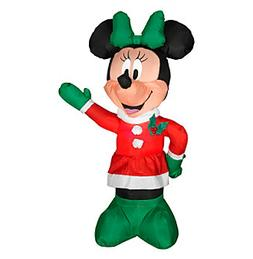 Airblown® Inflatable Minnie in Winter Outfit