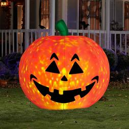 Airblown Inflatable Pumpkin Halloween Yard Decor - 5 feet ta