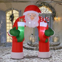 HOMCOM Airblown Inflatable Xmas Christmas Holiday Yard Decor