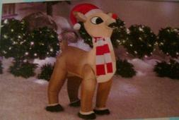 AIRBLOWN RUDOLPH THE RED NOSED REINDEER~CHRISTMAS YARD INFLA