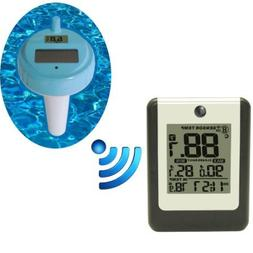 Ambient Weather WS-14 Wireless 8-Channel Floating Pool and S