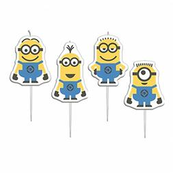 MINIONS Amscan Mini Figurine Party Candles