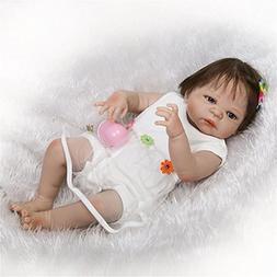 Anatomically Correct Reborn Baby Girl Full Body Silicone Dol