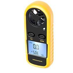 Anemometer, Digital LCD Wind Speed Meter Gauge Air Flow Velo